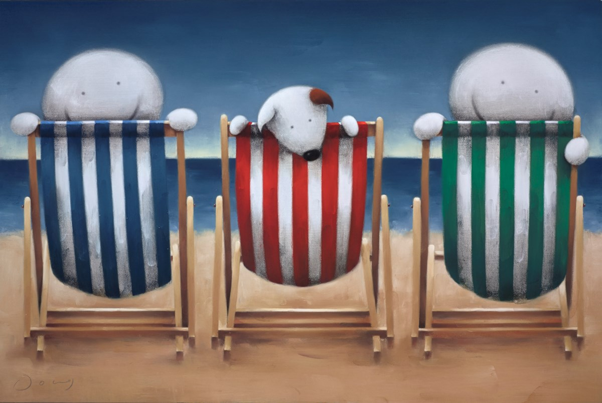 Beside the Seaside... by doug hyde -  sized 30x20 inches. Available from Whitewall Galleries